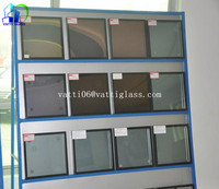 AS/NZS quality safety low e IGU double glazed hollow glass