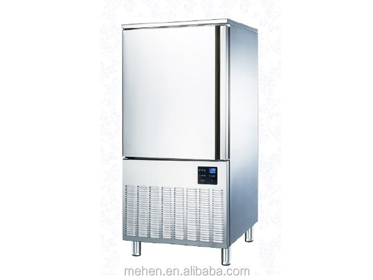 Top quality low temperature air cooling gelato quick freezing machine ice cream blast freezer