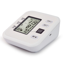 OEM back light digital upper arm type talking voice blood pressure measuring monitor instruments