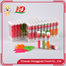 Cheap china multi-colored good taste sweet and sour mini hard candy