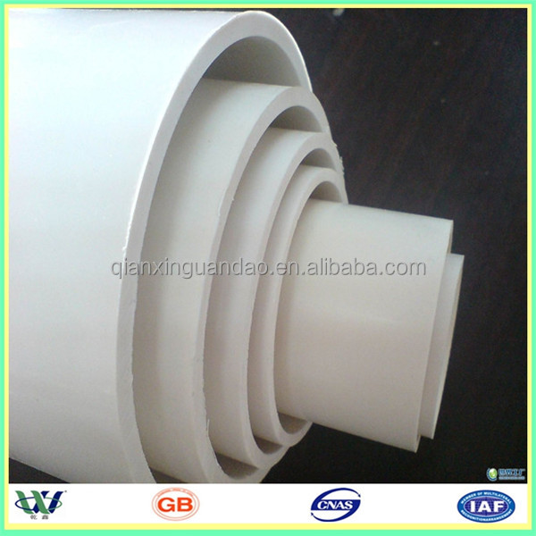 China supply 5 inch large diameter pvc pipe