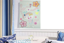 Foaming Designed Mdf Luminous Children Wall Art Home Decoration Picture