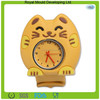 Chinese wholesale waterproof custom cute animal shaped silicone watches for boys and girls