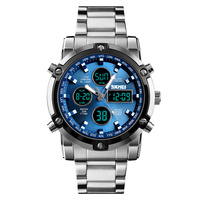 SKMEI brand 5ATM waterproof watch classic ODM watches digital watches men