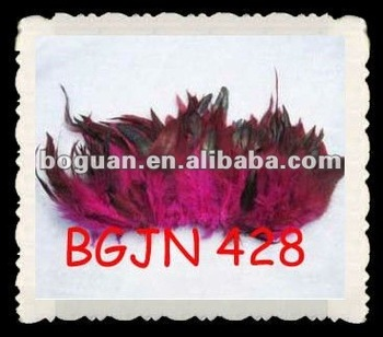 "4-6"" Wholesale rooster tail feather"