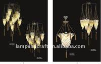 2011 modern cloth shade pendant lights