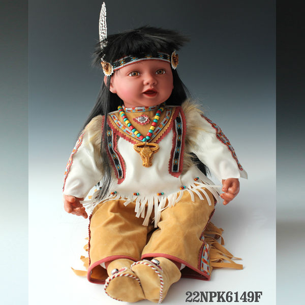 Indian Toddler Limited Edition Doll 22 Inches indian toys and dolls