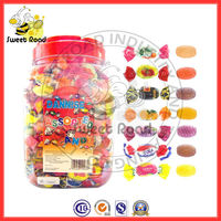 Mixed Flavour Hard Candy(cherry,strawberry,coffee,orange,grape,cola,juice peach,lemon,mint)