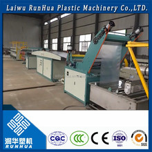pp pe flat wire plastic monofilament extruder wire rope machine