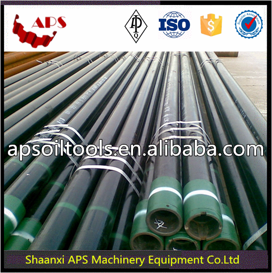Oil and Gas OCTG Casing J55 N80 P110 Seamless Casing Pipe, Casing and Tubing Steel Pipe API 5CT