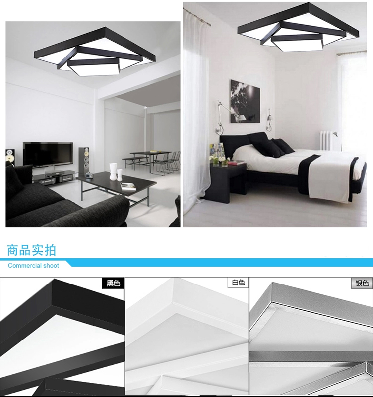 2015 NEW DESIGN Starry romantic Effect popular Surface mounted flat Round Led ceiling lamp Modern