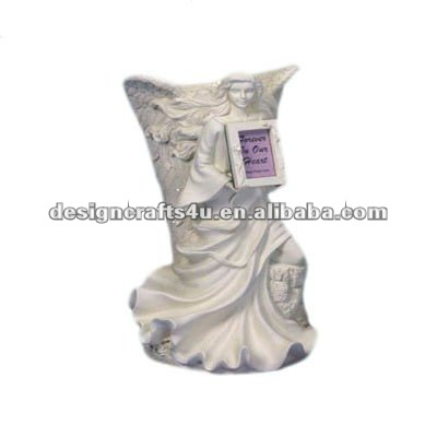 Ceramic Angel Cremation Urns With Photo Frame