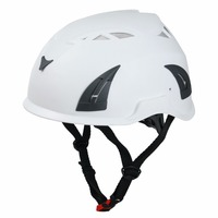 European Style Adult Climbing Safety Helmet With Leather Chin Strap