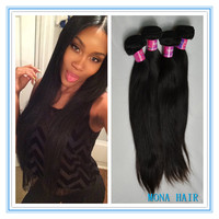 virgin straight malaysian hair weaving hair products factory