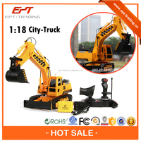 Hot selling high quality rc excavator models for sale