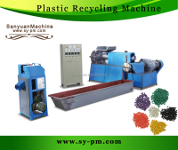 plastic film recycling granulation equipment /SJ-120 model recycling machine