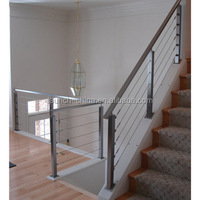 Best railing project 3-6mm cable wire deck design cable railing