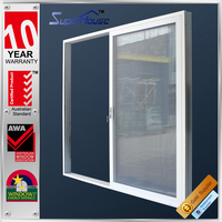 New design waterproof sliding exterior triple doors