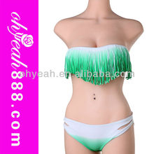 Fast delivery in stock sexy lady fringe tassel bikini