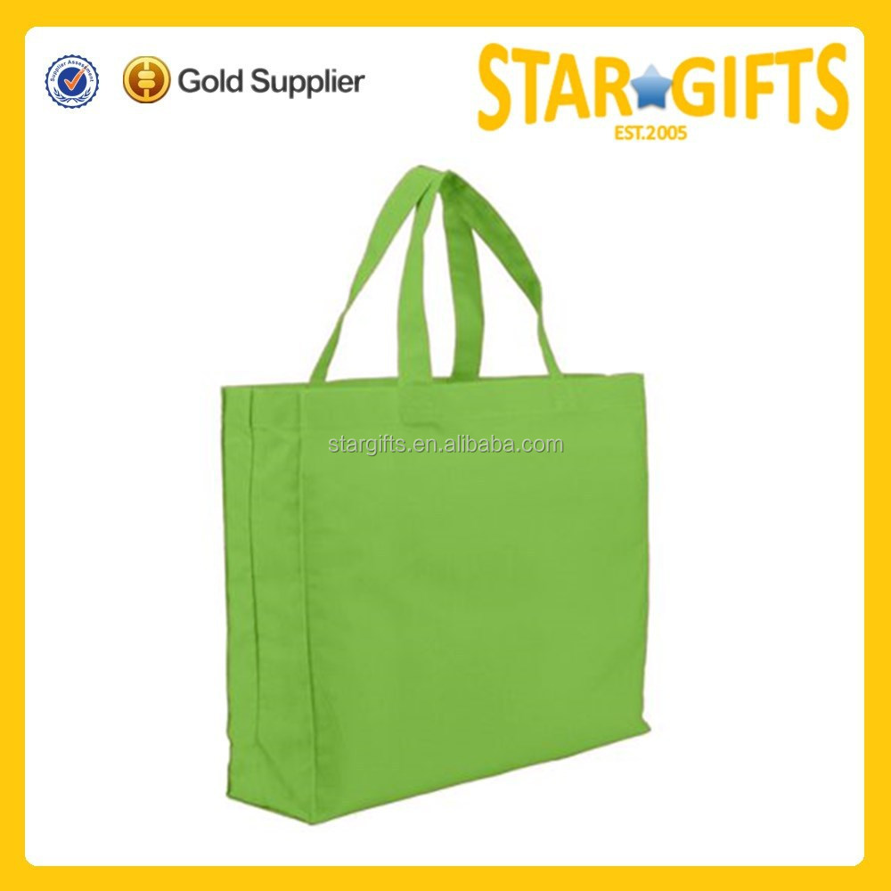 All purpose standard size trade show cheap cotton promotion bag