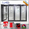 Aluminum door and window manufacturing aluminum glass folding door comply with Australian standard AS/NZS2047