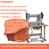 SHENPENG FGB6800 plastic polypropylene baffled FIBC bags sewing machine
