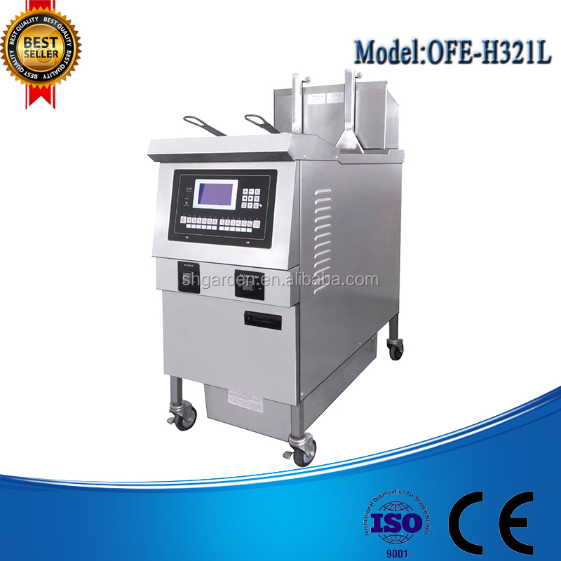 churro machine and fryer/automatic deep fryer/potato chips fryer machine
