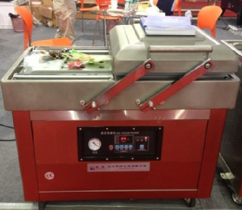 table top vacuum packing machine/vacuum sealer DZ400/2SB double chamber vacuum sealer