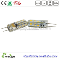High Quality 80Ra SMD 1.5W LED Light G4 2700K
