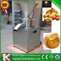 100-150 kgs per hour stainless steel colloid grinder/ Bulk Peanut butter and sesame paste colloid mill