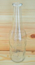 High quality 530ml Clear glass alocohol beverage bottle soft drinking beverage bottle soda bottle