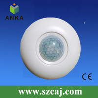 3 Wire Ceiling 180 Degree Infrared Time Delay Motion Sensor Switch