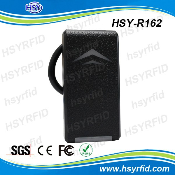 HSY-R162 IP65 waterproof wiegand stand alone contactless rfid card reader for time attendance