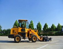 small compact wheel loader zl12f
