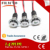 metal 14mm single led light IP67 12v 24v indicator lamp with oil symbol for car