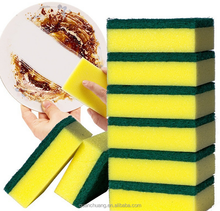 Bargains Multi-use Double Sided Kitchen Dish Cleaning Sponge Scrub Scouring Pads