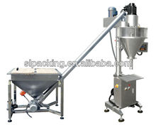 pharmaceutical powder packing machine with screw feeder