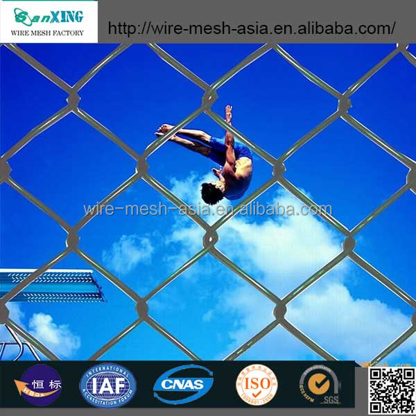 hot sale high quality and fairest price chain link perimeter fence designs