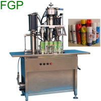 Semi-Automatic aerosol filling machine for pharmaceutical aerosols