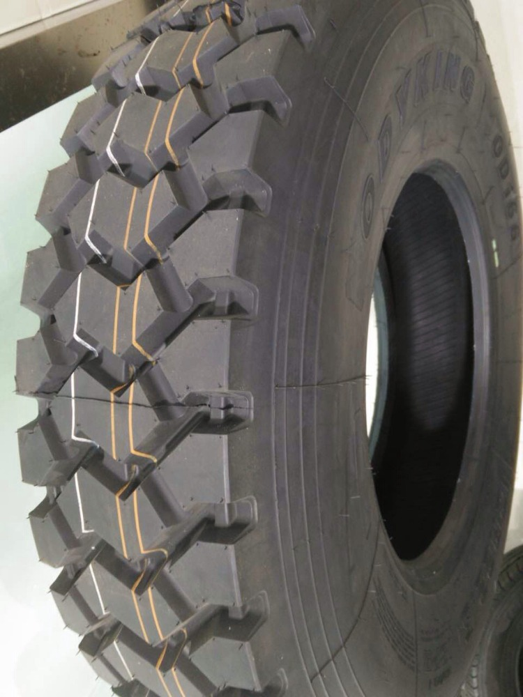 Heavy duty radial truck <strong>tyre</strong> 12R22.5 with Mining pattern