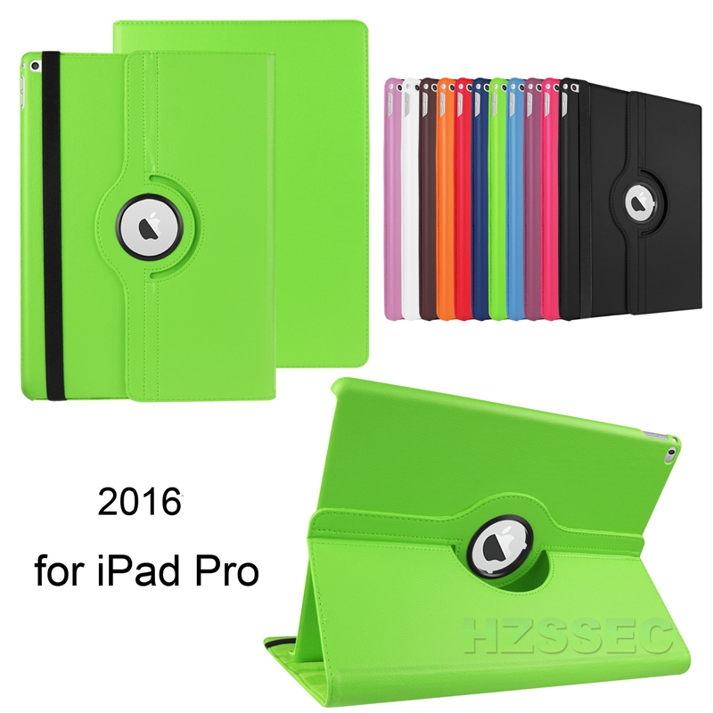 flip 360 degree rotate belt clip case cover for ipad pro 9.7 with Auto Sleep Wake