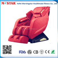 Comfortable Vibration Back Massage Chair with Rolling, Zero Gravity