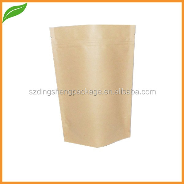 foil lined paper bag/ ground coffee bag with valve /nuts packaging bag