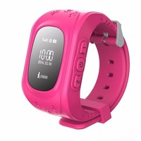 Hot sales Children GPS Tracker Smart Watch Q50 For Kids safe and Anti-lost Kids Gps Watch Phone 2017