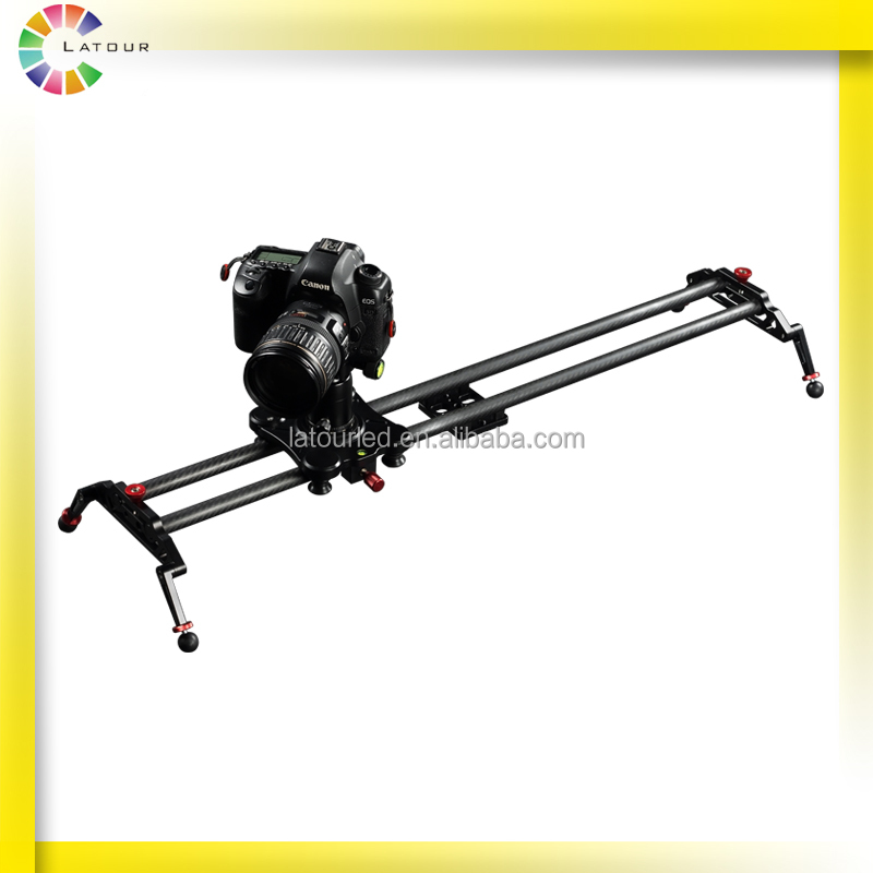 China photography adjustable timelapse shooting video camera slider with high precision rotation motorized dslr slider track