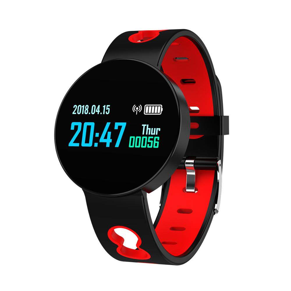 2019 smart bracelet heart rate monitor 0.96inch <strong>touch</strong> <strong>screen</strong> smart sport watch