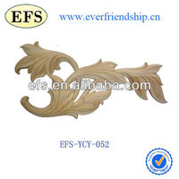 exquisite hand carving wood furniture ornament (EFS-YCY-052)