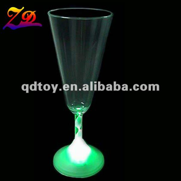 LED plastic martini glass
