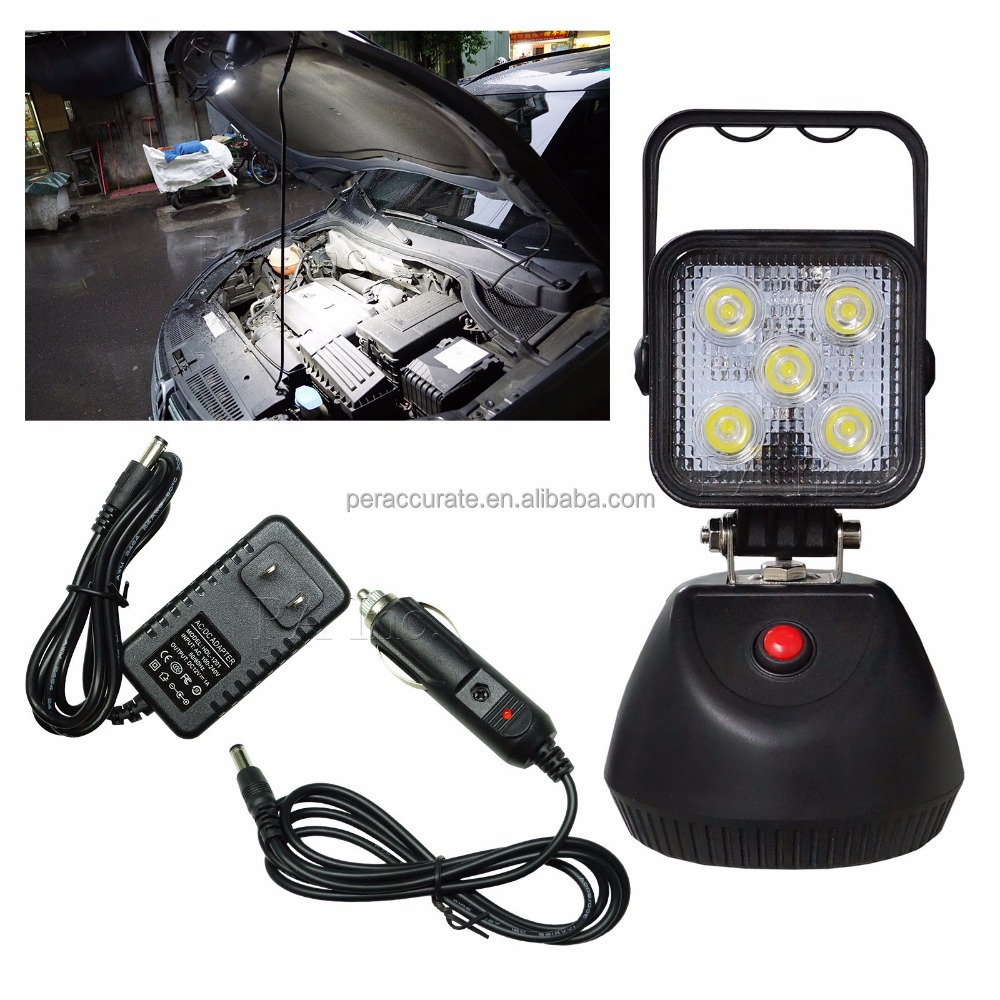 Rechargeable Battery COB Work Light 3 Stage Flashing Outdoor Camping portable led lantern
