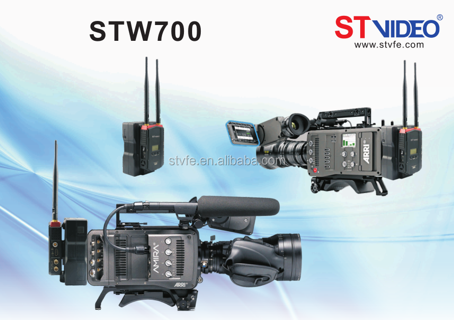 hot selling Broadcast HD Link 300m 5.8GHz Wireless Video Camera Transmitter